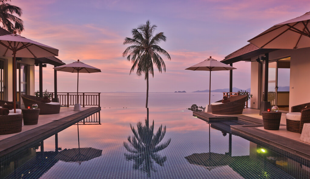 Code Samui - Five bedroom villa set around a central pool and sundeck